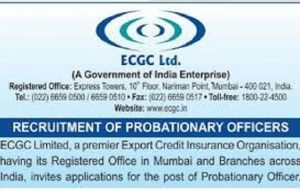 ECGC Recruitment 2021 Apply Online for 59 Probationary Officer Vacancy 3